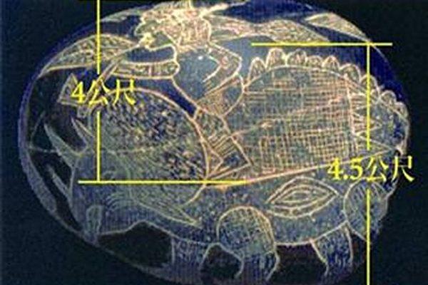 秘鲁古老石头:人曾与恐龙一起生活