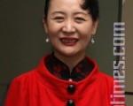 中國問題專家盛雪(攝影:張麗/大紀元)