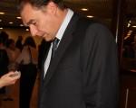 瑞士Olympic國際銀行系統審計負責人弗蘭克接受記者採訪。(攝影:王泓/大紀元)