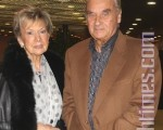 卡培爾先生(Kappel)和她的太太。(攝影:章樂/大紀元)