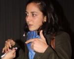 世界衛生組織(WHO)工作人員喬瓦娜‧古格裡埃勒密(Giovanna Guglielmi)。(攝影:Lily/大紀元)