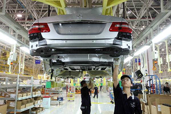 美日知名汽车品牌1月在华销量骤降