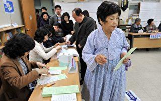 韓投票率不及55% 執政黨暫領先