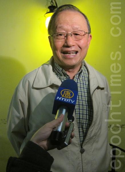 台灣投資中國受害者協會理事長高為邦博士。(攝影:鍾元 / 大紀元)