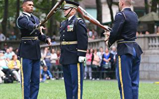 纪律与团结的展现 军仪队操枪表演集锦