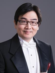 神韵交响乐团郭耿维先生拥有中国竹笛演奏学士学位和管弦乐指挥硕士学位。(摄影:戴兵/大纪元)