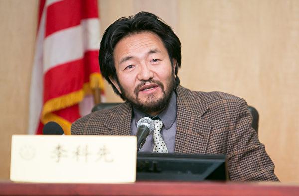 來自印度、正在美國訪問的著名作家、西藏社會生活家、藏人領袖李科先表示,中共是漢藏矛盾的製造者(李莎/大紀元)