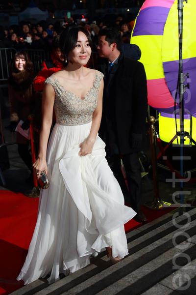 韓裔美籍女演員金侖珍。(全宇/大紀元)