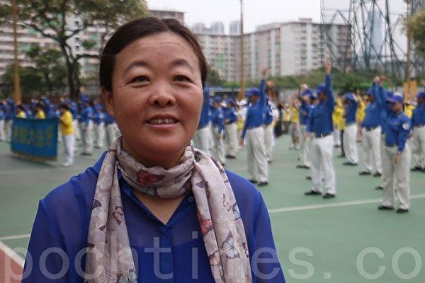 【專訪4.25親歷者】香港油畫家:法輪功揚名世界