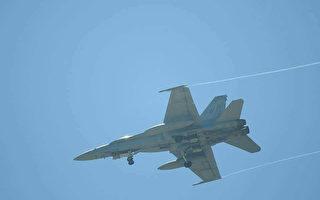 美國2架F-18戰機迫降台灣台南機場