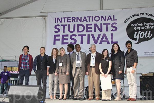 多倫多市政府幾乎每年在多倫多市中心舉辦國際學生節(International Students Festival),至今已舉辦3屆。(周月諦/大紀元)