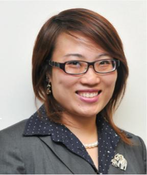 全美多家保险公司的理财专员Amanda Wu。(本人提供)