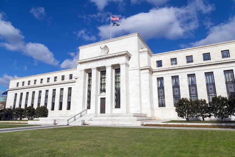 美聯儲計劃開發一個新的銀行支付系統,以加速資金轉帳和交易。圖為位於華盛頓DC的美聯儲大樓。(Fotolia)