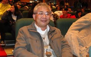斗六市石榴國中校長王昇燦。(李芳如/大紀元)