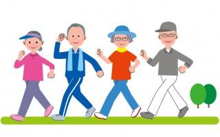 最新研究發現,走路能預防失智症、癌症、高血壓等疾病。(大紀元圖片庫)