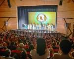 神韻世界藝術團台中場第二場演出,2016年4月7日在中山堂登場。(白川/大紀元)
