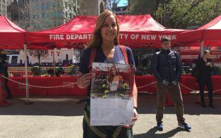 纽约消防局明年挂历亮相 华裔女孩列第一