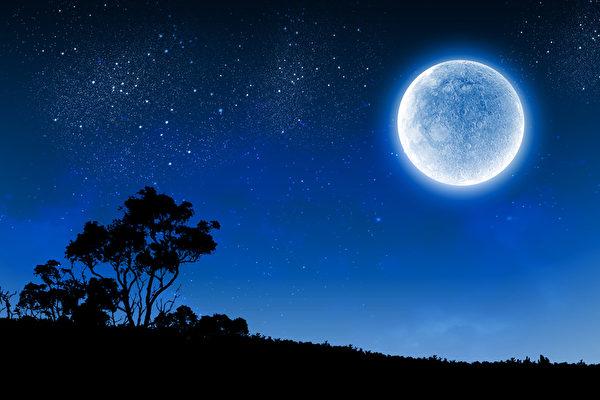 週末天文奇觀 藍月亮和火星沖日齊登場