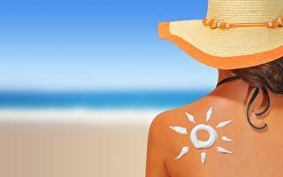 专家指,防晒霜的SPF越高,合成化学品成分就越多。其实晒太阳本身就促进人体排毒。(Fotolia)