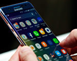 三星Galaxy Note 7。 (Drew Angerer/Getty Images)