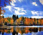 全球賞楓勝地以加拿大的魁北克最為著名。(pixabay)