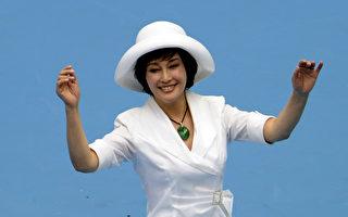 著名演员刘晓庆。(WANG ZHAO/AFP/GettyImages)