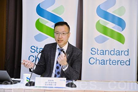 渣打集團旗下渣打香港投資策略主管梁振輝表示,由於中國未有明顯的貶值底線,預期人幣破七機會甚大,最多跌至7.07水平。(宋祥龍/大紀元)