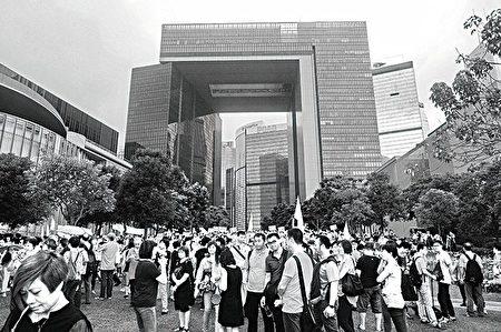 """习近平当局对福建帮于去年10月带头围攻立法会等做法很不满,批评他们""""搞乱香港""""。(大纪元资料图片)"""