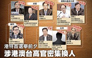 香港特首选举前,习近平当局不断调整港澳台侨系统官员。(大纪元)