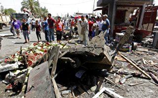 伊拉克首都巴格達在29日夜間遭到炸彈攻擊,死亡人數已經上升到15人,另有27人受傷。(AFP PHOTO / SABAH ARAR)
