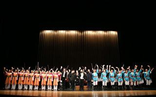 展演古典舞蹈與音樂 觀眾讚蔦松國中辦學優異