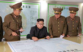 據朝鮮高層情報人士透露,金正恩害怕在美國萬一發動對朝鮮進行軍事襲擊時對自己進行「斬首」,早就安排下了逃跑到中國的計劃。 (STR/AFP/Getty Images)