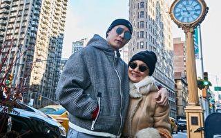 周湯豪赴紐約看秀 偕母同行歡樂過新年