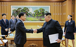 日媒:朝鮮宣傳韓朝對話是金正恩的勝利