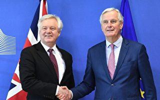 英脱欧过渡期协议草案达成 只剩贸易谈判
