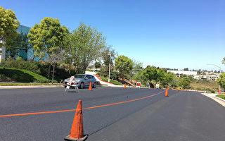加州聖地亞哥修路重點項目 進展快