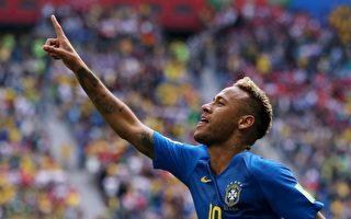 E组第二轮 巴西补时进两球 2:0淘汰哥斯达黎加