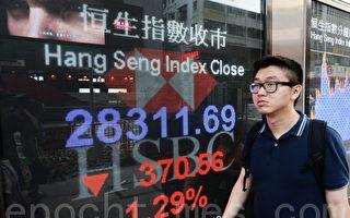 貿易戰升級 中港股匯雙跌 恒指挫370點