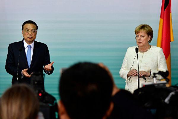 中德簽署貿易大單 德媒提醒:小心中共陷阱