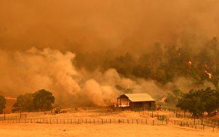 北加州野火超8万英亩  与旧金山面积相当