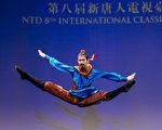 組圖:中國古典舞大賽複賽少年男子組風采