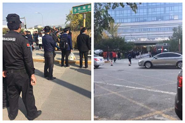 P2P难友京东总部维权 保安打人 警方抓人