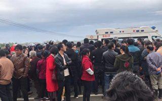 湖北上万民众抗议建垃圾焚烧场 遭警方镇压