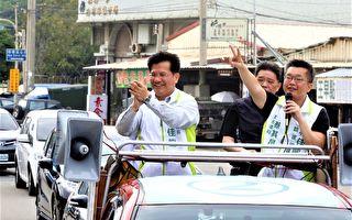 """台中市长选前最后民调    略显""""蓝消、绿涨"""""""