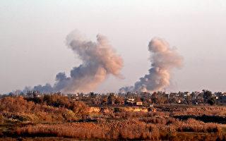 美领导联军空袭 摧毁ISIS指挥控制中心
