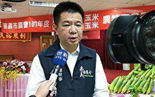 嘉义市农会辅导农民水稻转作甜玉米