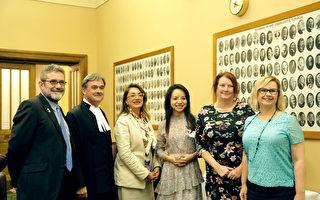 林耶凡南澳人权之旅 澳媒政界广泛关注
