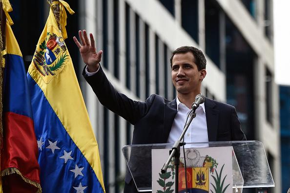美擬資助委內瑞拉臨時總統 切斷馬杜羅金源