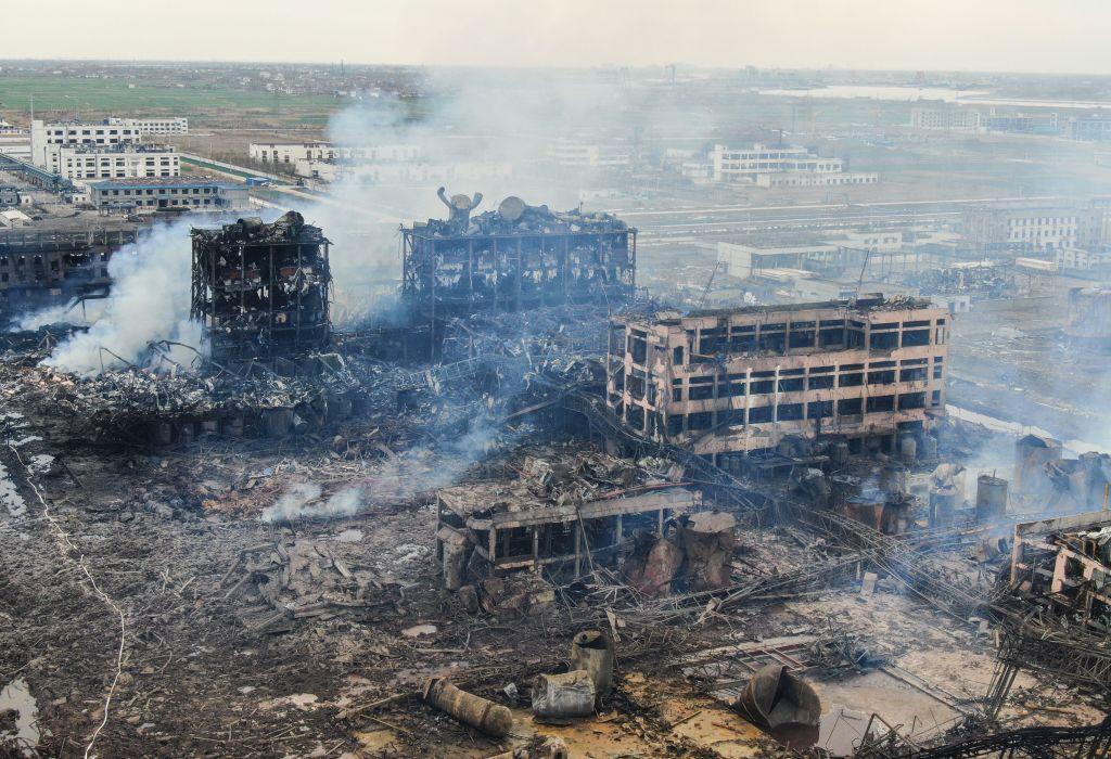 【新聞看點】江蘇爆炸毒擴散?中國工廠爆不停