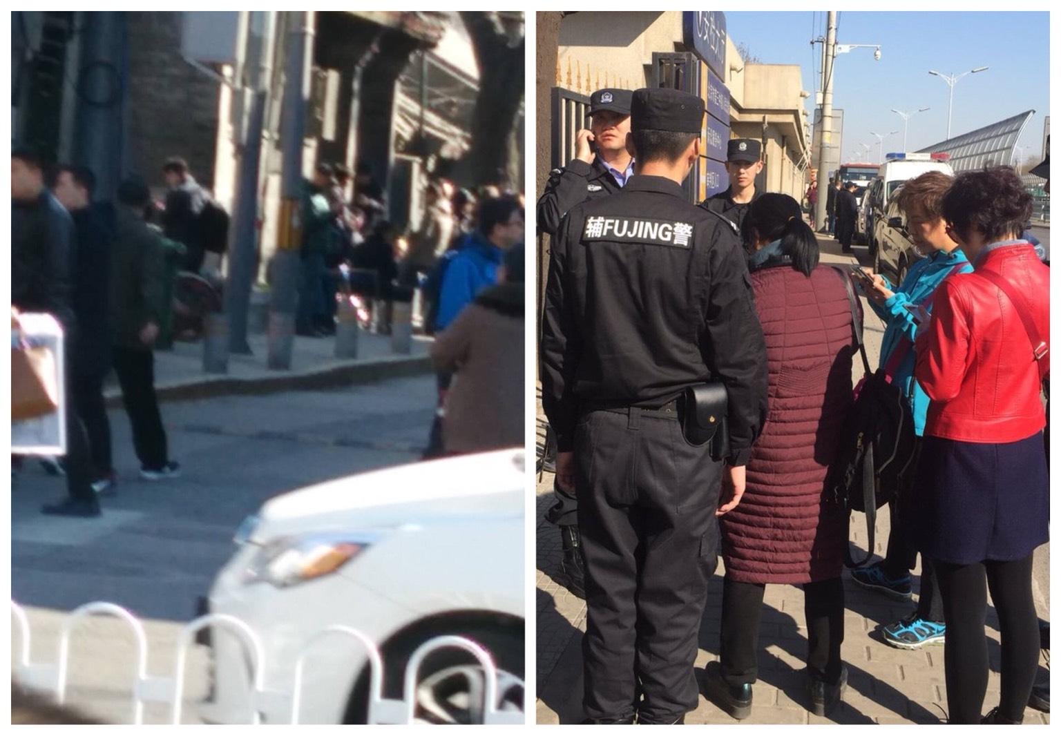 國家信訪局公安部警察疑出賣訪民 訪民惱火